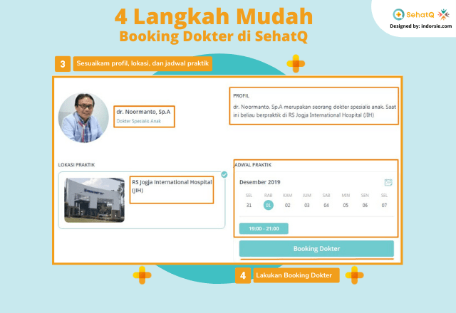 booking dokter sehatq 2