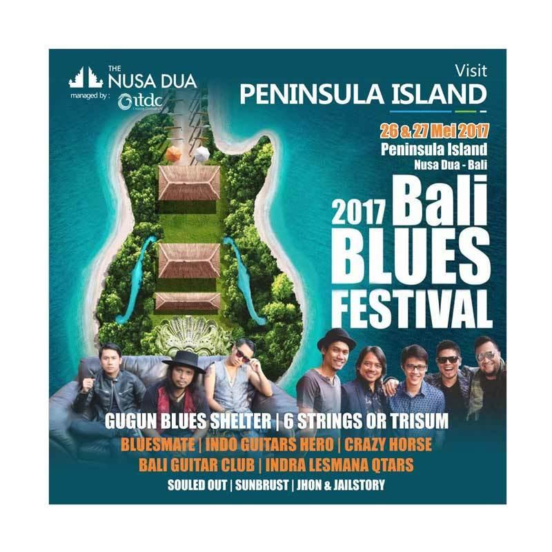 Konser Bali Blues Festival 2017 di Nusa Dua Bali Tanggal 26- 27 Mei 2017, Pertunjukan Musik Sebagai Apresiasi Sastra