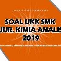 Soal UKK Jurusan Kimia Analis (KA) 7285 2019