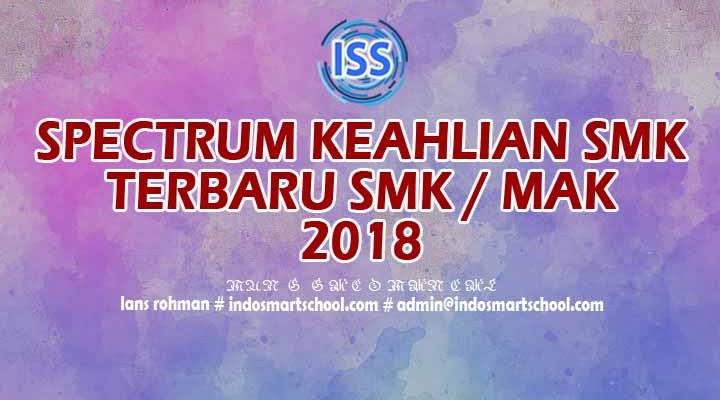Download Spektrum Keahlian SMK Terbaru 2018