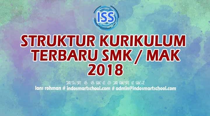 Download Struktur Kurikulum SMK terbaru 2018