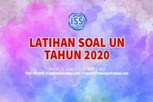 Latihan Soal Ujian Nasional Mata Pelajaran Bahasa Indonesia SMA 2019 dan Pembahasannya