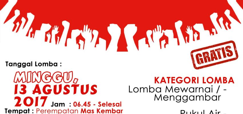 Download Contoh Poster Lomba 17 Agustus 2019