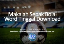 Makalah Sepak Bola Word Tinggal Download