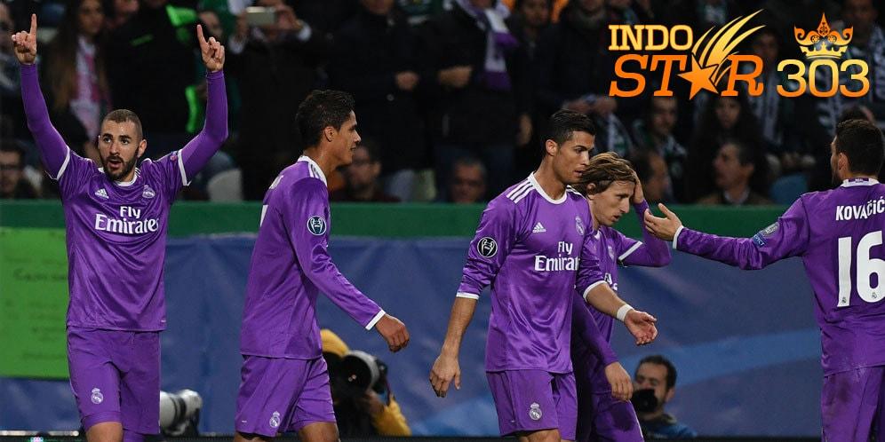 Agen Judi Bola - Hasil Pertandingan Sporting Lisbon vs Real Madrid