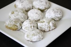 Resep Kue Kering Almond Green Tea Praktis