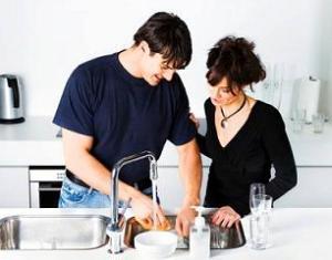 Membuat Pasangan Membantu di Rumah