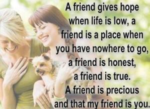 Kutipan tentang Persahabatan
