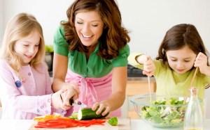 Membantu Pekerjaan Ibu