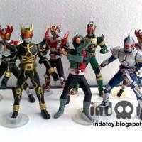 Jual Kamen Rider Figure isi 7
