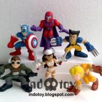 Jual Mini Marvel Chibi Figure