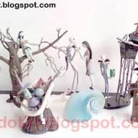 Jual Nightmare Before Christmast Mini Diorama