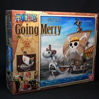 >Jual One Piece Going Merry Model Kit DX : Bandai