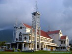 Chatedral Church at Ruteng