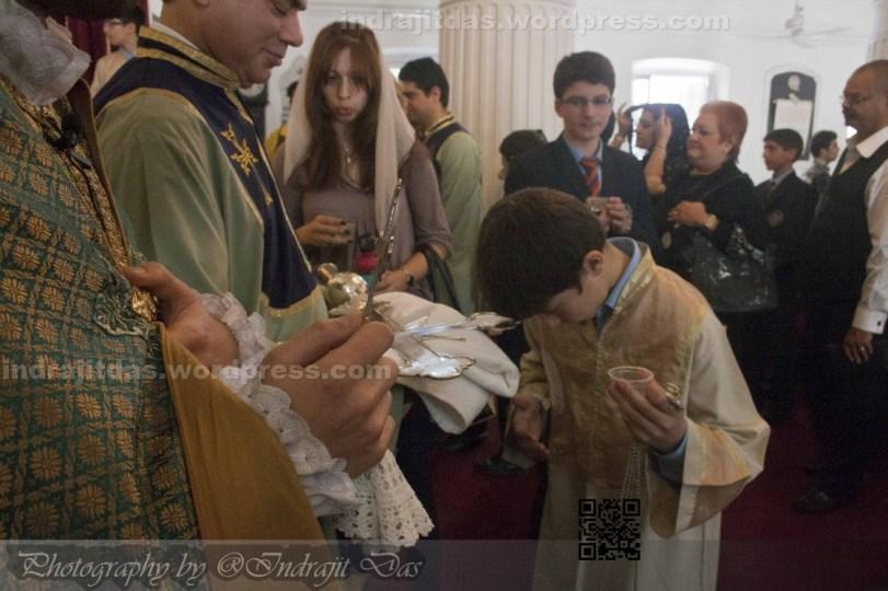 Armenian Christmas Celebration in Kolkata 2015