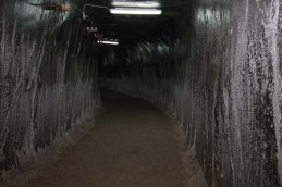 7. The tunnel with its different texture of salt crystals - 1