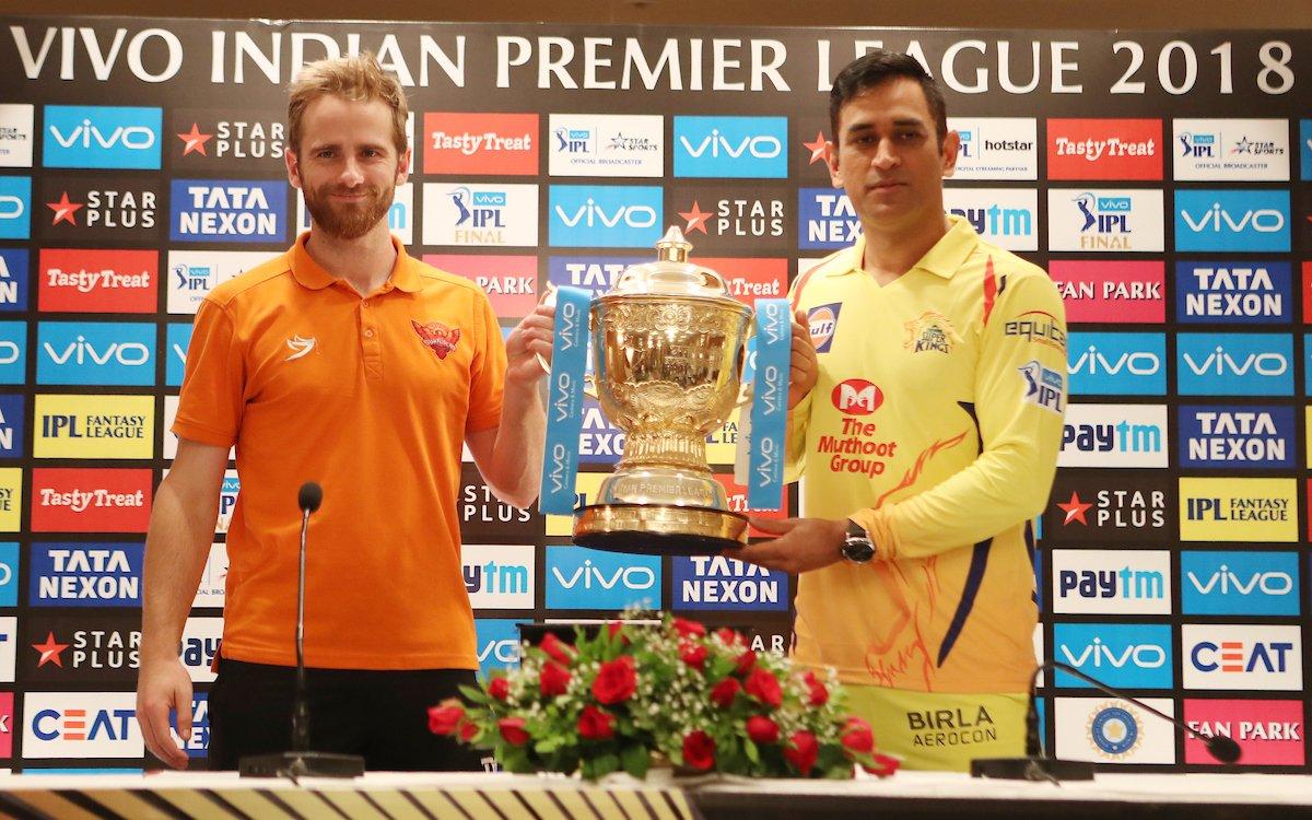 Chennai Super Kings vs Sunrisers Hyderabad, IPL 2018 Final