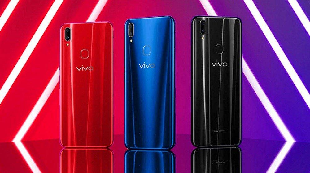VIVO Z1 in different color variants