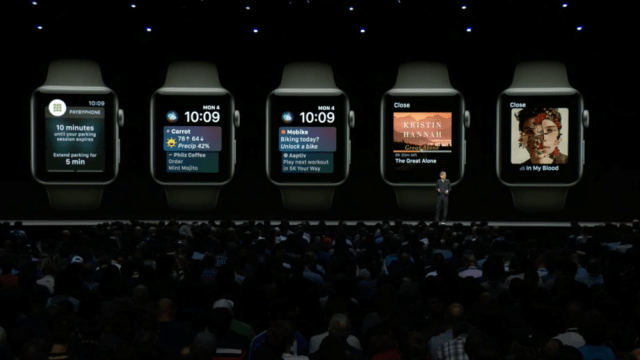Applw WWDC 2108 WatchOS 5