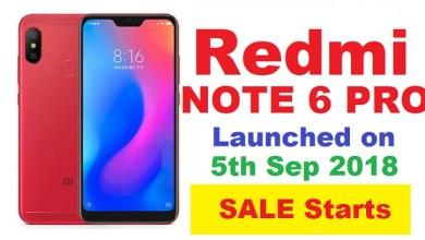 Xiaomi Redmi 6 Pro - Price, Full Specifications & Features