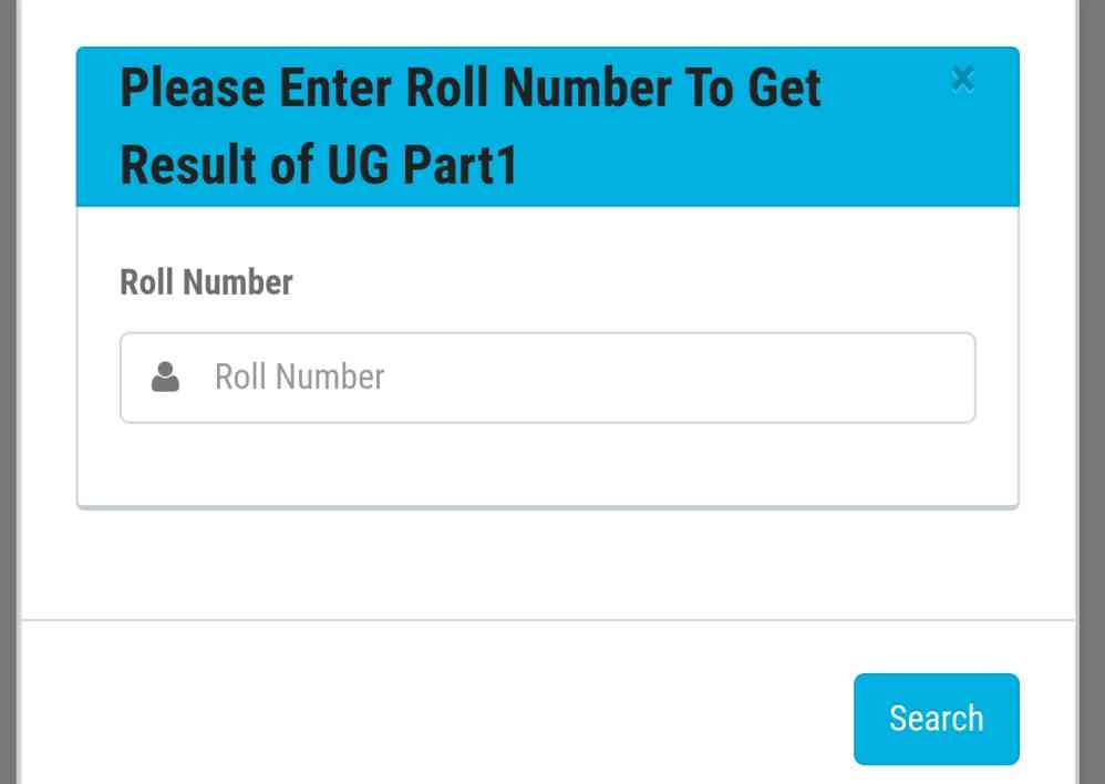 LNMU UG Part 1 Result 2021 Roll no. wise & Name Wise