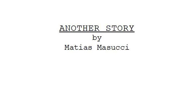 Another Story: The Screenplay