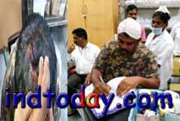 Raja Singh injured, hospitalised