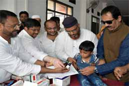Congress, HHF 2nd Health Camp Proves To Be A Hit