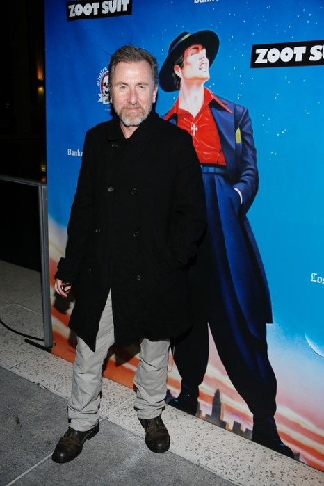 """Actor Tim Roth arrives for the opening night performance of """"Zoot Suit"""" at Center Theatre Group/Mark Taper Forum on Sunday, February 12, 2017, in Los Angeles, California. (Photo by Ryan Miller/Capture Imaging)"""