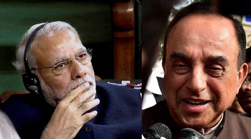 Narendra Modi and Subramanian Swamy