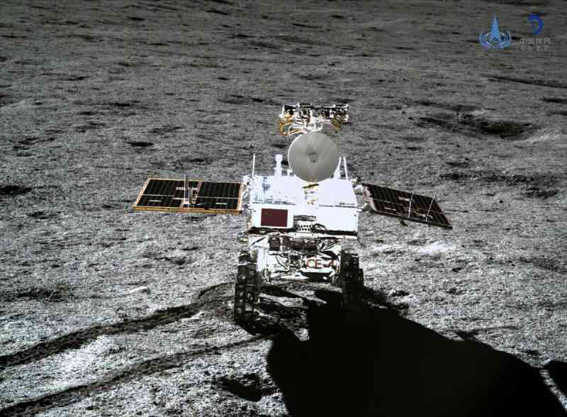 China's Chang'e 4 spacecraft, lunar rover Yutu-2, or Jade Rabbit 2