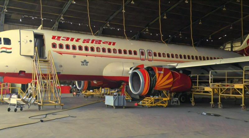 Air India aircraft maintenance, modifications to be under 'Make in India'