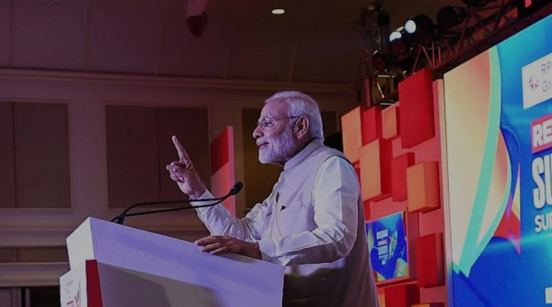 Modi imitates Arnab, says India transformed from 'Nation wants to know' to 'Nation First' (cover)