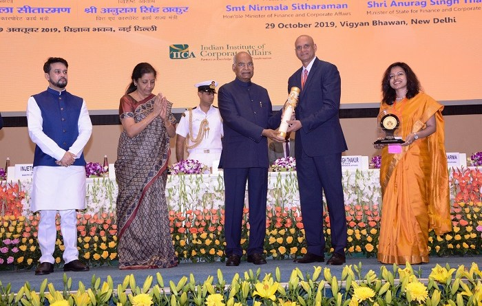 President Kovind presents India's first National CSR Award to TechnipFMC