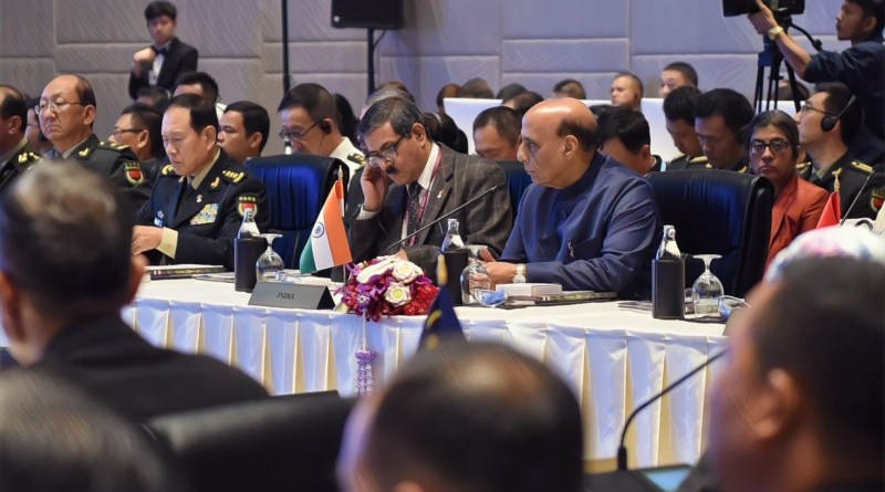 Rajnath at ADMM-Plus: Eliminate scourge of terrorism, develop sustainable security