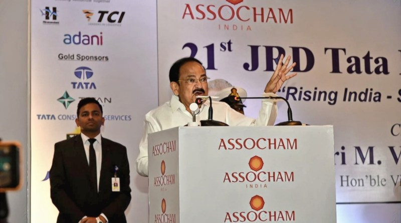 VP Naidu: 'India rising to global leadership position; Could emerge as leading economy in 10 years'