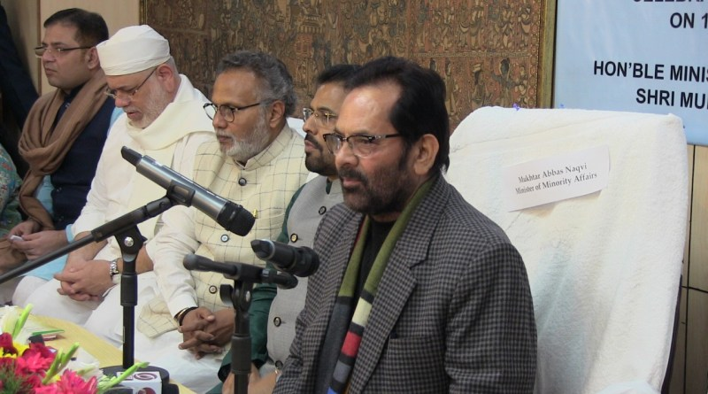 Conspiracy to create confusion over Citizenship Act, NRC: Mukhtar Abbas Naqvi