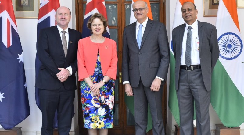Defence & Foreign Secretaries of India & Australia hold third 2+2 Dialogue