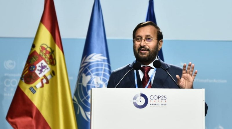 Developed countries benefited from carbon emissions, must repay debt: Javadekar at COP25