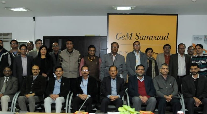 Govt e-Marketplace feedback & portal awareness program 'GeM Samvaad' takes off in 4 states
