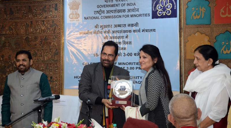 Govt gave scholarships to 3.20 Cr minority students, of whom 60% are girls: Minister Mukhtar Naqvi