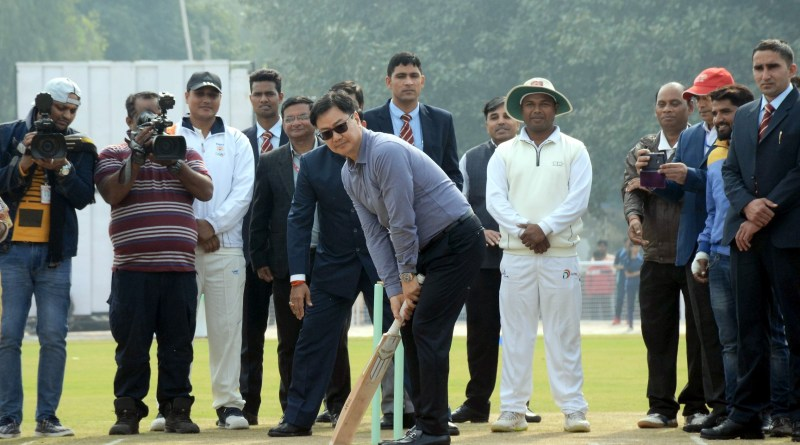 HRD Minister & MoS Sports launch Fit India School Rating System at new KV Cricket Stadium