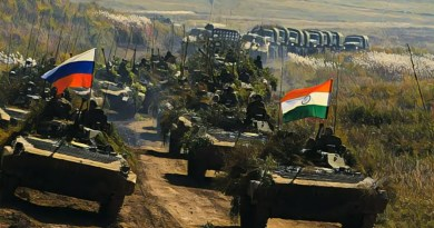 India-Russia Joint Tri-Services Exercise 'Indra 2019' to begin next week in Pune, Goa & Babina
