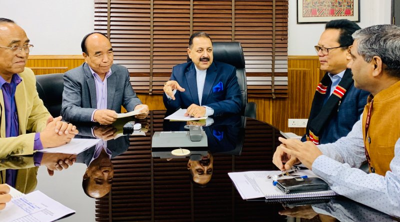 Mizoram CM meets DoNER Min Jitendra Singh to discuss development projects, IAS cadre