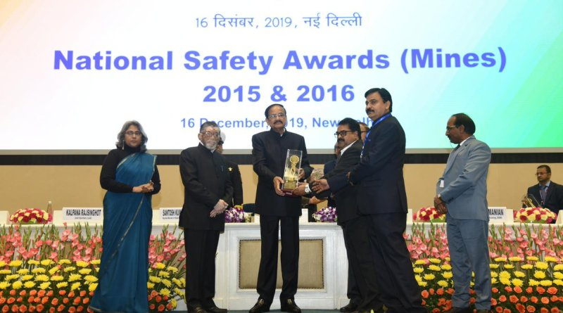 National Safety Awards presented by Vice President Naidu