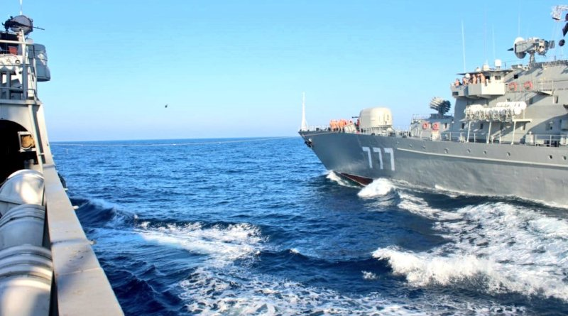 Navy Phase of India-Russian Tri-Service Exercise Indra 2019 off Goa