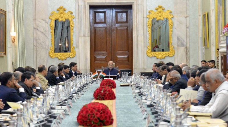 President Kovind hosts 46 Heads of Central Univs & Higher Instts, urges cross-category collaborations