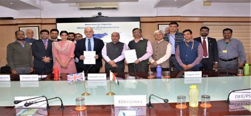 Railway Min & DFID-UK sign MoU for EV tech, energy efficiency, reducing carbon footprint