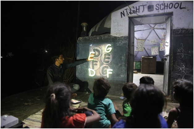 Solar Digital Night Schools by DST, Barefoot College bring 1,000 rural students back to formal education