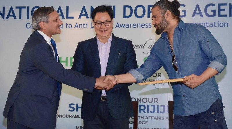 Sports Min Rijiju calls for rigorous campaign to bring awareness about doping